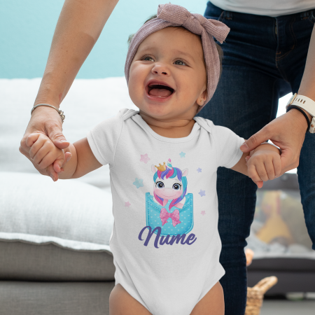 Body personalizat cu nume si unicorn [0]