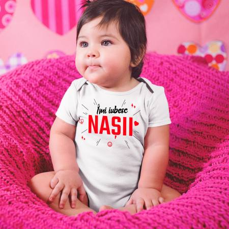 "Body personalizat ""Imi iubesc nasii"" [0]"