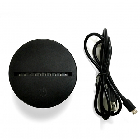 Lampa 3D luminoasa personalizata Spotify cu poza model2 [4]