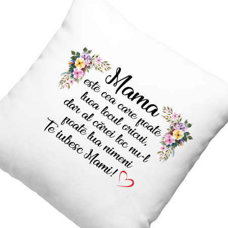 Perna cu text Mama este cea care poate lua locul oricui,dar al carei loc nu il poate lua nimeni [2]