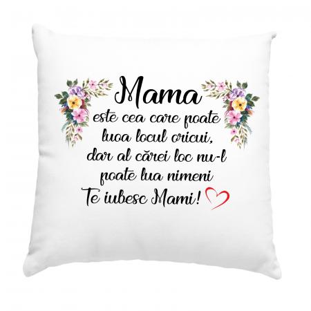 Perna cu text Mama este cea care poate lua locul oricui,dar al carei loc nu il poate lua nimeni [1]