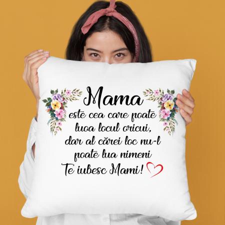 Perna cu text Mama este cea care poate lua locul oricui,dar al carei loc nu il poate lua nimeni [0]