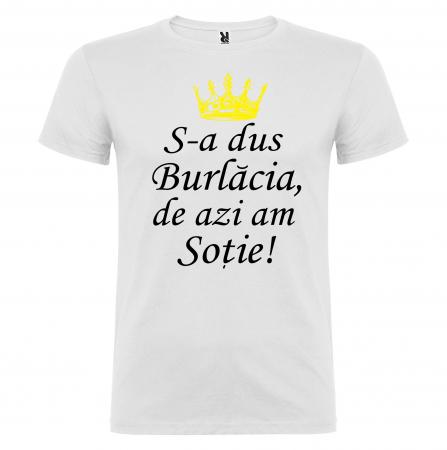 "Set tricouri ""Mi-a trebuit maritat de azi am barbat "" [2]"