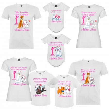 Set tricouri personalizate pisica Marie [2]