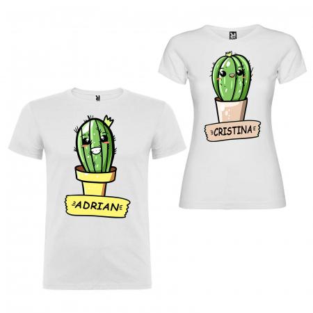 Set tricouri cuplu  Cactus cu nume [2]