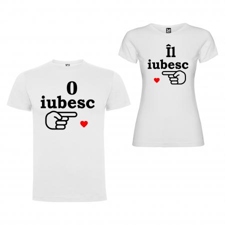 Set Tricouri Cuplu   IL,O IUBESC [1]