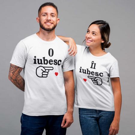 Set Tricouri Cuplu   IL,O IUBESC [0]