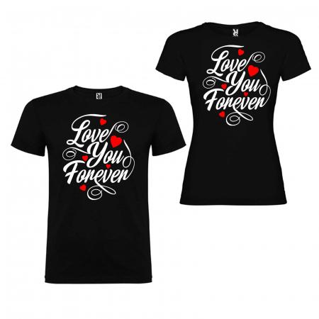 Set tricouri cuplu love you forever [1]