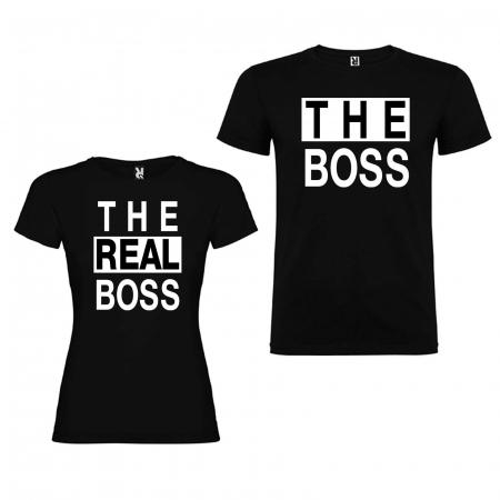 Set tricouri de cuplu The Boss The Real Boss [1]