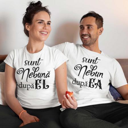 Set tricouri cuplu sunt nebun(a) dupa el/ea [0]