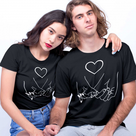 Set tricouri cuplu hands love [0]