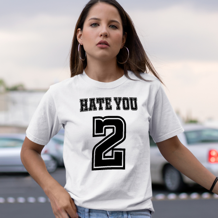 Tricou HATE YOU 2 [0]