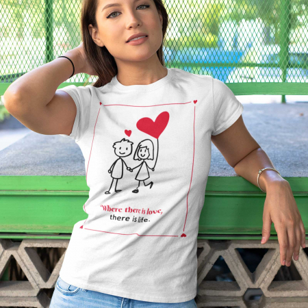 Tricou There is life [0]