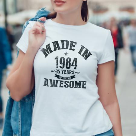 Tricou personalizat zi de nastere Made in... [0]