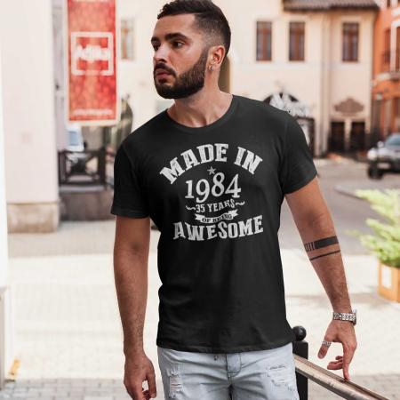 Tricou personalizat zi de nastere Made in... [1]