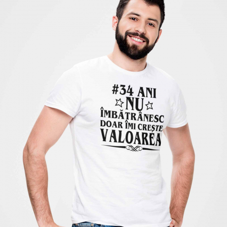 Tricou personalizat zi de nastere Nu imbatranesc doar imi creste valoarea [0]