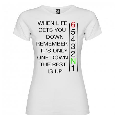 Tricou WHEN LIFE GETS YOU DOWN [4]
