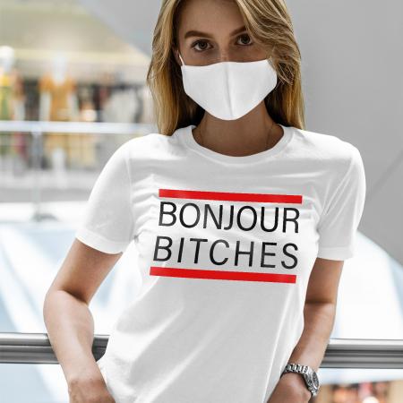 Tricou BONJOUR BITCHES [1]