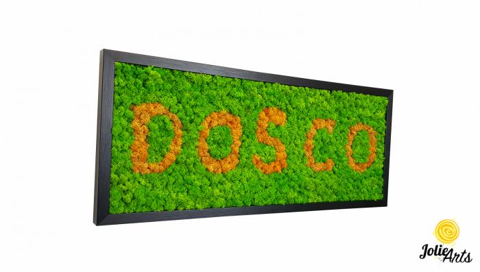 Logo personalizat cu licheni naturali stabilizati, Jolie Arts [0]