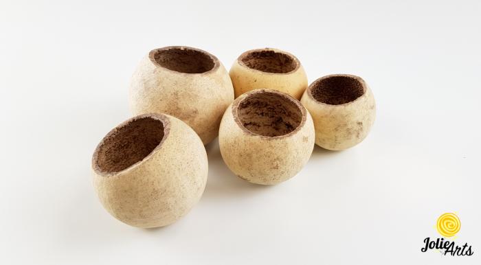 Bell cup, 5 - 7 cm, culoare natur [0]