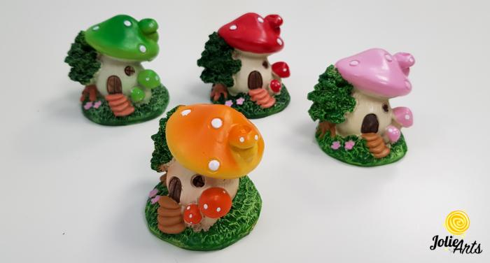 Decor casuta ciuperca , 6 cm [1]