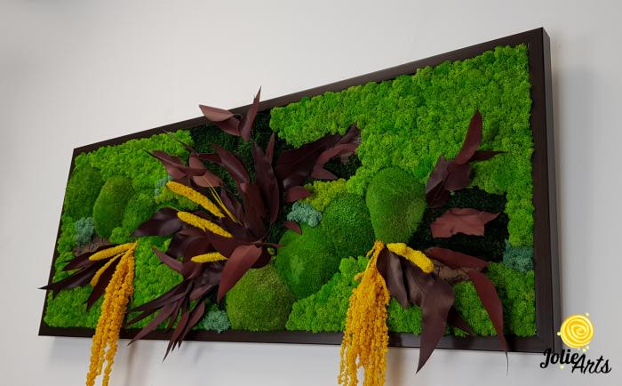 Model Amalonis, tablou licheni, muschi si plante naturale stabilizate, Jolie Arts, www.tablouriculicheni.ro-2 [4]