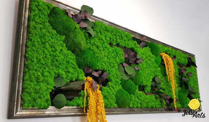 Model Amaranthus Galben, rama personalizata gri patinat [4]