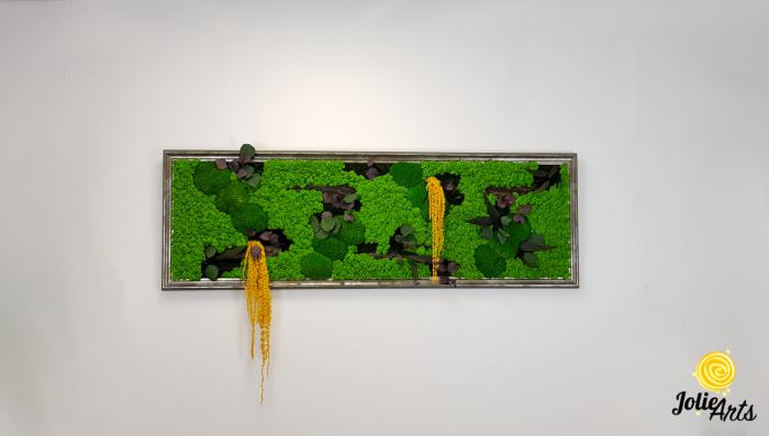 Model Amaranthus Galben, rama personalizata gri patinat [2]