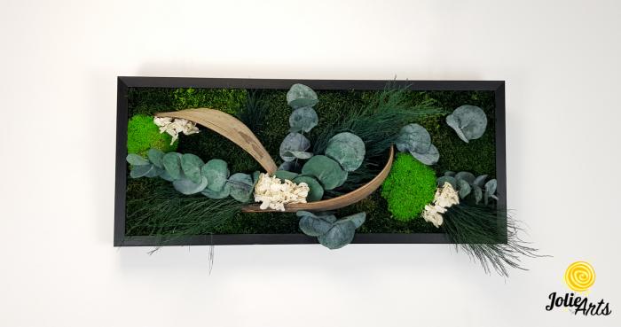 Model Aris, tablou muschi, plante stabilizate si decor natural-4 [2]