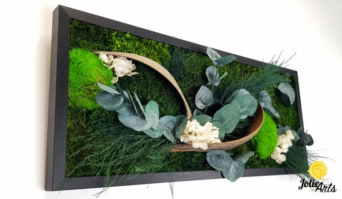 Model Aris, tablou muschi, plante stabilizate si decor natural-4 [3]