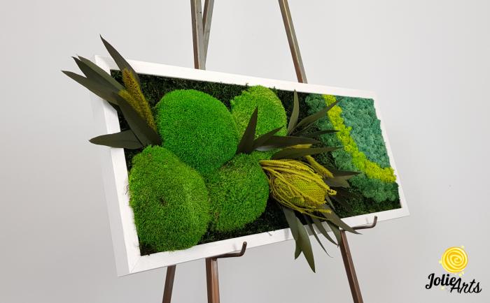 Model Banskia, 30 x 70 cm, rama alba, Jolie Arts, www.tablouriculicheni.ro-2 [4]
