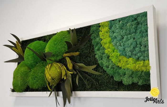 Model Banskia, 30 x 70 cm, rama alba, Jolie Arts, www.tablouriculicheni.ro-2 [6]