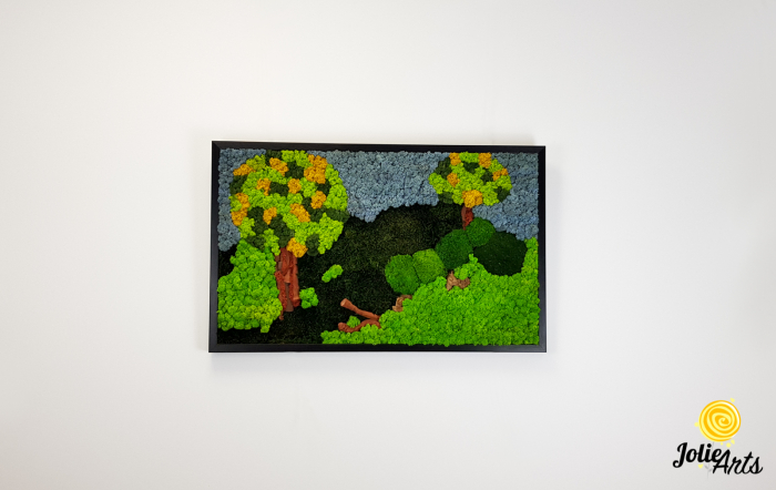 Model Copacei: licheni, muschi si elemente naturale stabilizate [2]