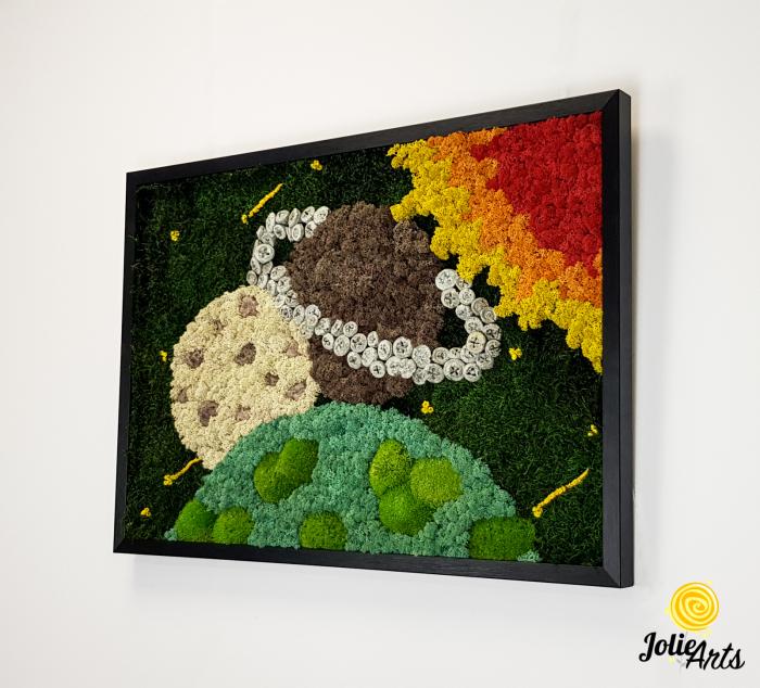 Model Cosmos, Licheni, Muschi si Elemente Naturale Decorative [1]