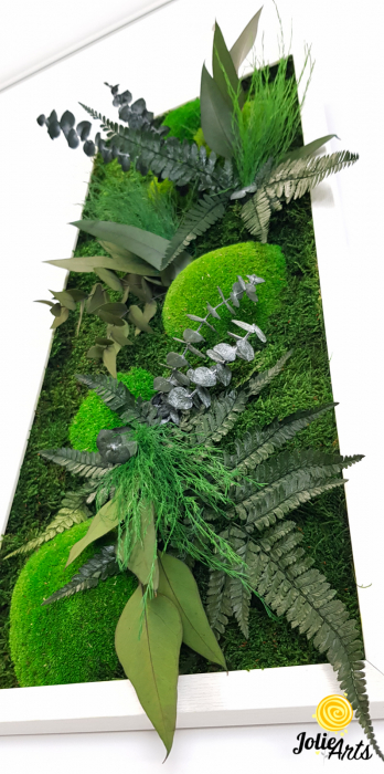 Model Green Day, set 3 tablouri dimensiune 30 x 70 cm [6]