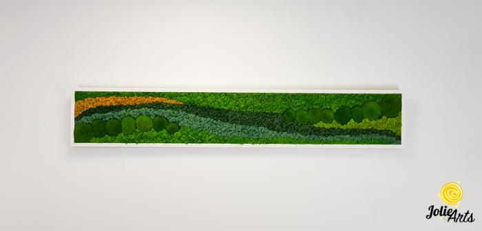 Model Pacific, licheni naturali stabilizati si muschi conservati de padure [1]