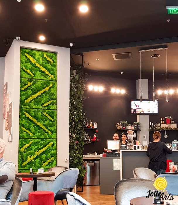 Panouri decorative cafenea, licheni, muschi bombati, plante naturale stabilizate [2]