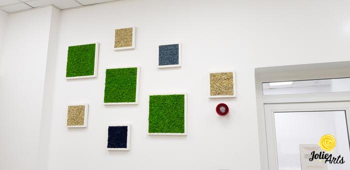 Set 8 tablouri decorate cu licheni naturali stabilizati [3]