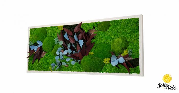 Tablou licheni, muschi si plante naturale stabilizate Jolie Arts, model Ilona [0]