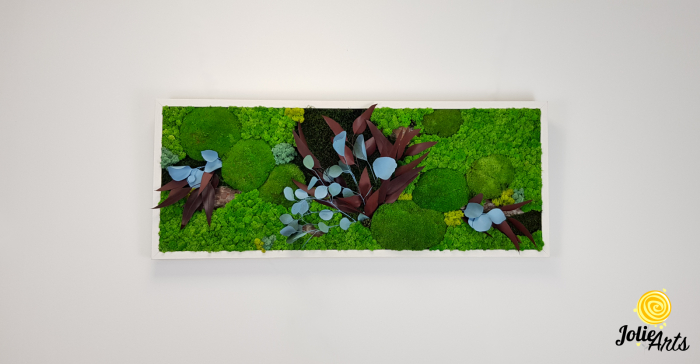 Tablou licheni, muschi si plante naturale stabilizate Jolie Arts, model Ilona [2]