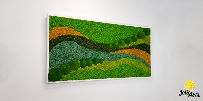 Tablou licheni si muschi bombati Jolie Arts, model Pacific [3]