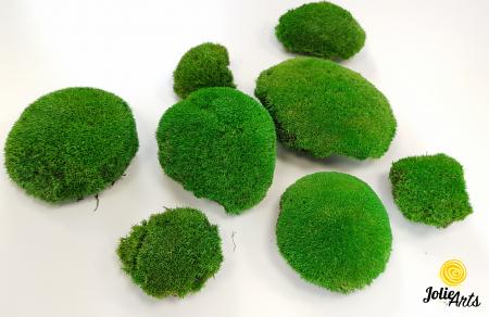 Muschi bombati stabilizati culoare Light Green. [2]