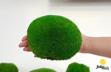 Muschi bombati stabilizati culoare Light Green. [0]