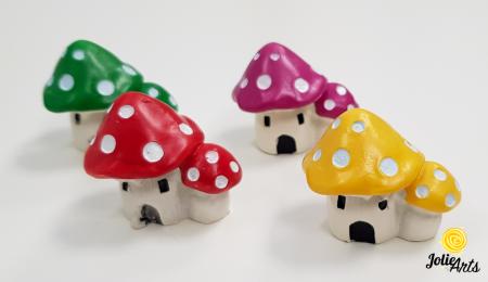 Decor casuta ciuperca , 3,5 cm [1]