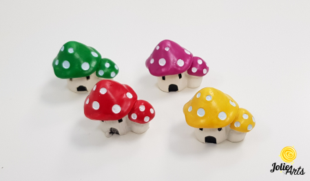 Decor casuta ciuperca , 3,5 cm [0]