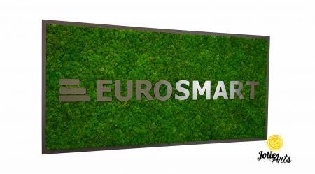 Logo Eurosmart decorat cu licheni naturali stabilizati [0]