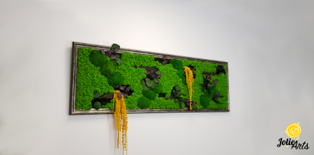 Model Amaranthus Galben, rama personalizata gri patinat [3]