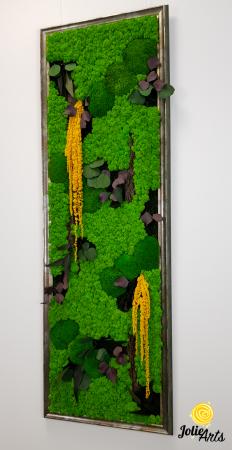 Model Amaranthus Galben, rama personalizata gri patinat [6]