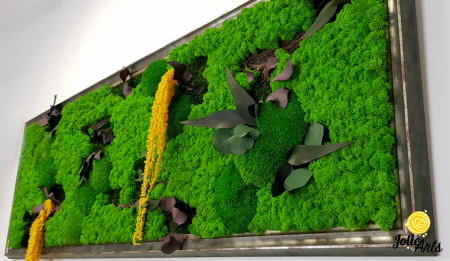 Model Amaranthus Galben, rama personalizata gri patinat [5]