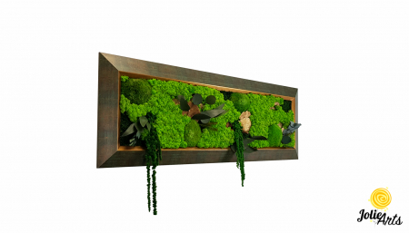 Model Amaranthus Verde, rama patinata verde cu insertii aurii [0]